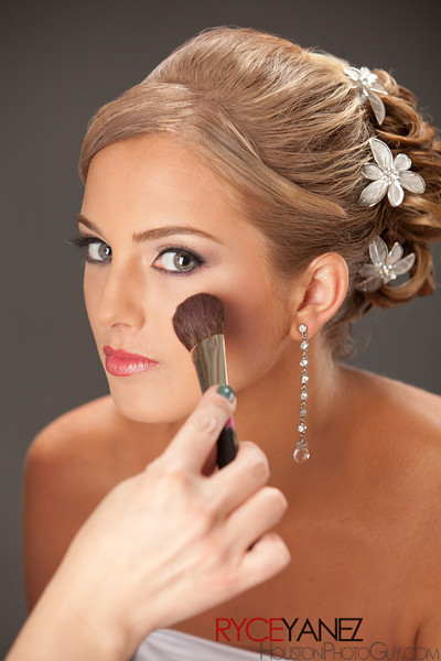 Bridal hair, up do, hairstyle, bridal makeup, airbrush makeup