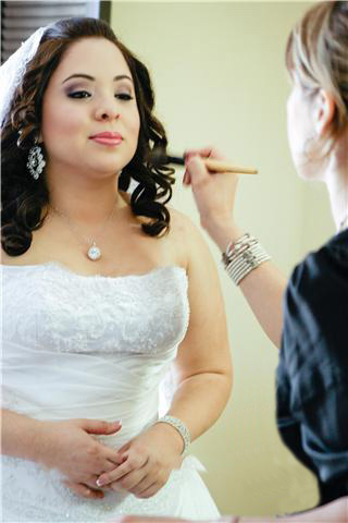 Airbrush make up, bridal hair